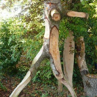 Tailles en Medoc - Le Taillan-Médoc - Sculpture sur bois